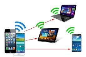 اتصال اینترنت گوشی به کامپیوتر خانگی(PC)