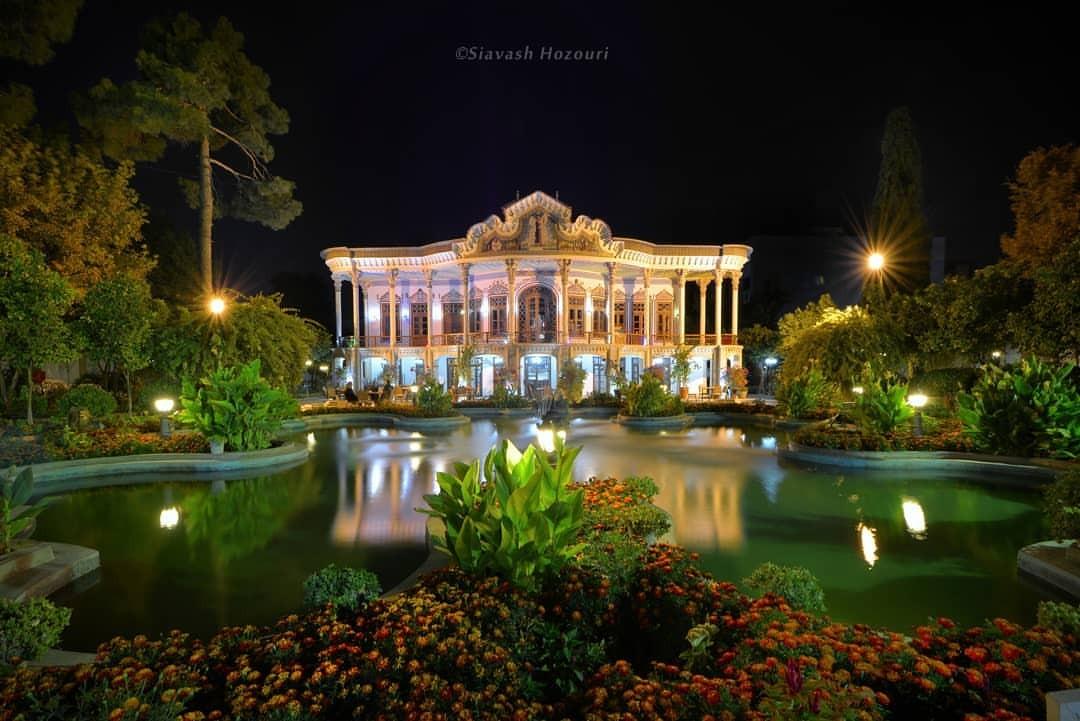 باغ عمارت شاپوری