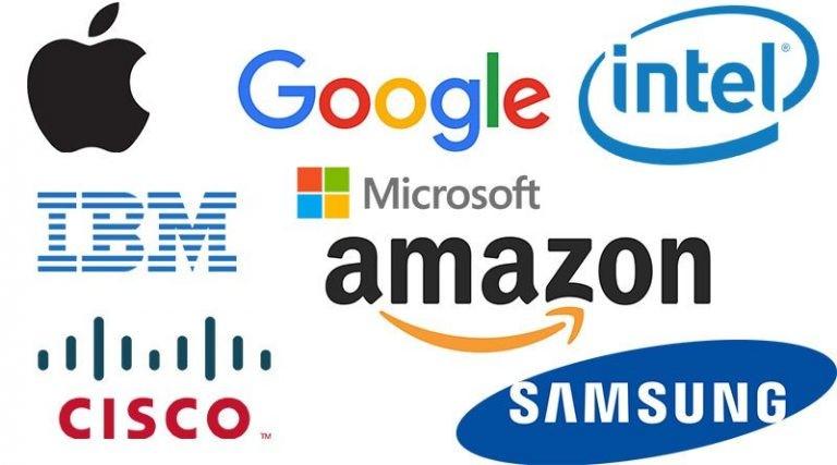 ۳۰ برند ارزشمند تکنولوژی در جهان