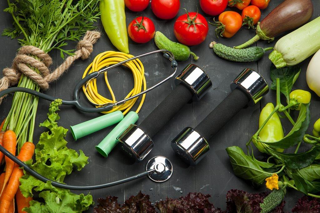 تناسب اندام باخوردن غذاهای مناسب برای ورزش