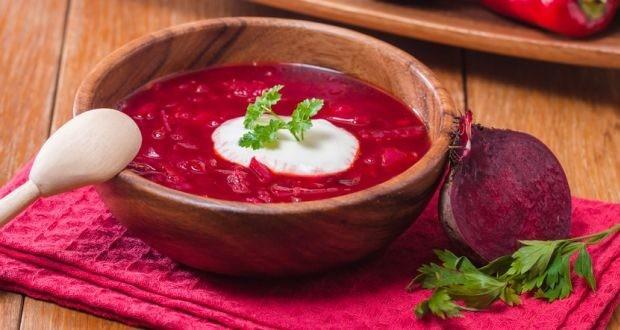 سوپ چغندر درمان خانگی برای سرماخوردگی