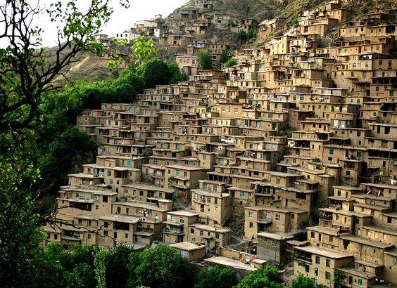 جاذبه های گردشگری روستایی| روستاهای پله کانی در ایران