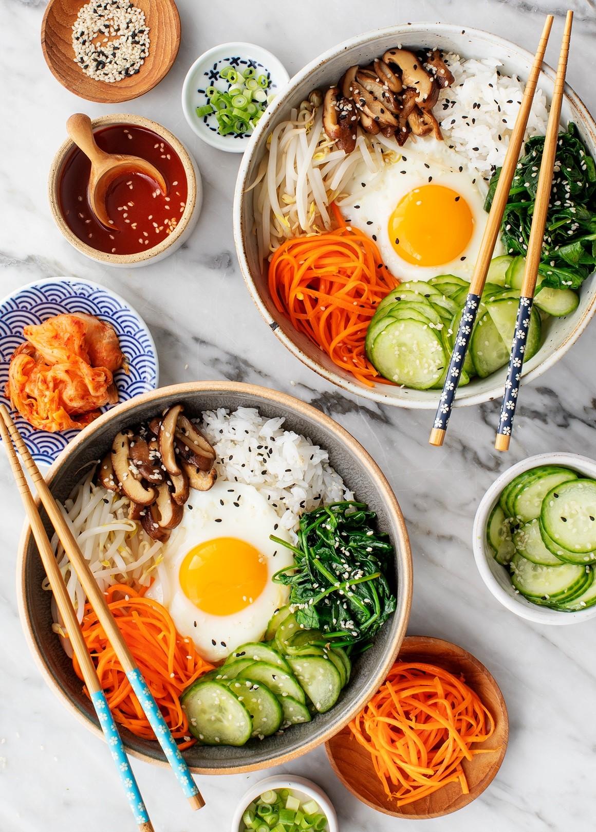 طرز تهیه Bibimbap غذای کره ای