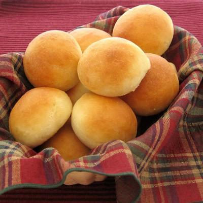 نان های کوچک توپی