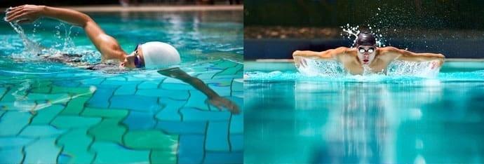 بهترین تمرینات شنا + مزایای اصلی شنا