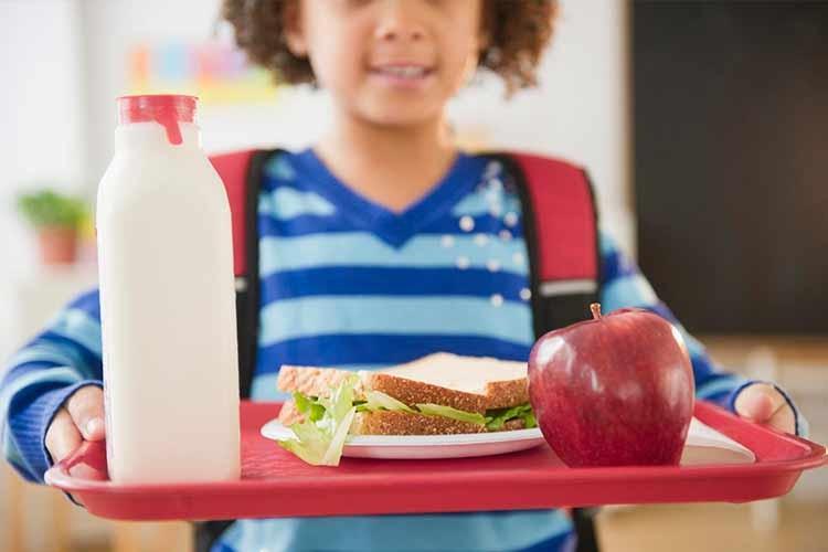 اهمیت تغذیه سالم در دوران مدرسه