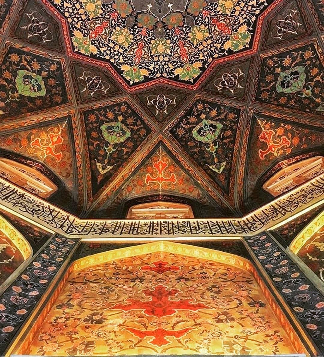 معماری صفویه در حرم حضرت معصومه