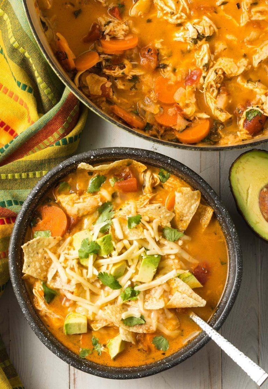 طرز تهیه بهترین سوپ تورتیلا مرغ در ارم بلاگ