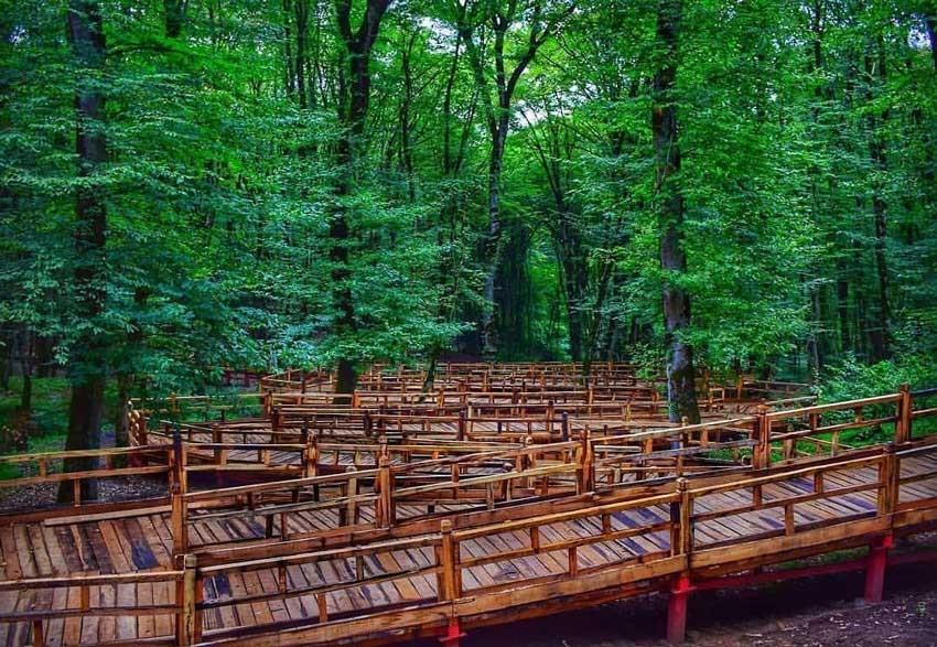معرفی پارک جنگلی النگدره گرگان