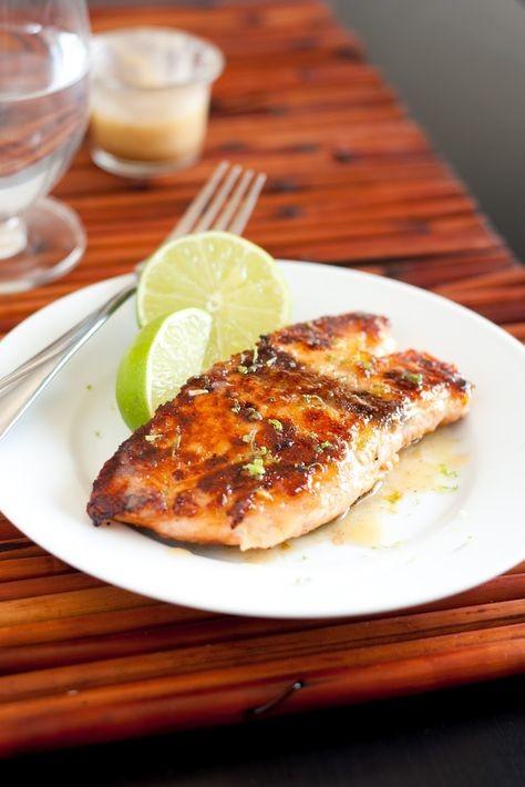 طرز تهیه ماهی سالمون با سس عسل و لیمو
