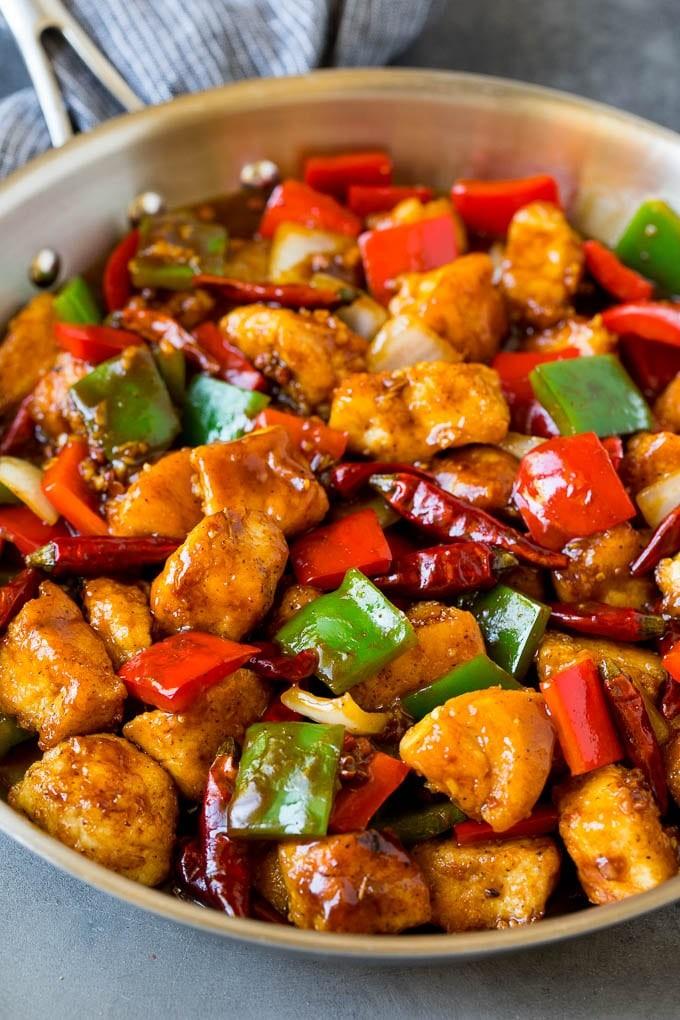 طرز تهیه غذاهای آسیایی با مرغ