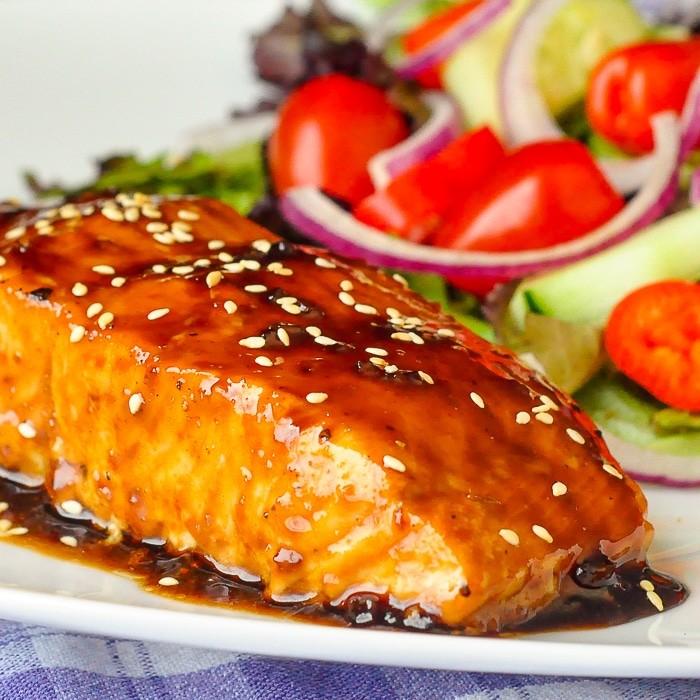 طرز تهیه ماهی قزل آلا با طعم پنج ادویه