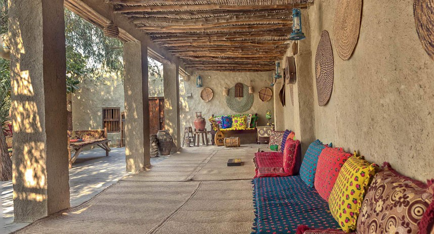 اقامتگاه های سنتی در قشم