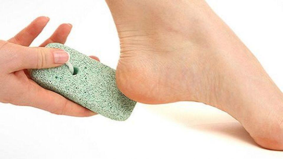 فواید کشیدن سنگ پا