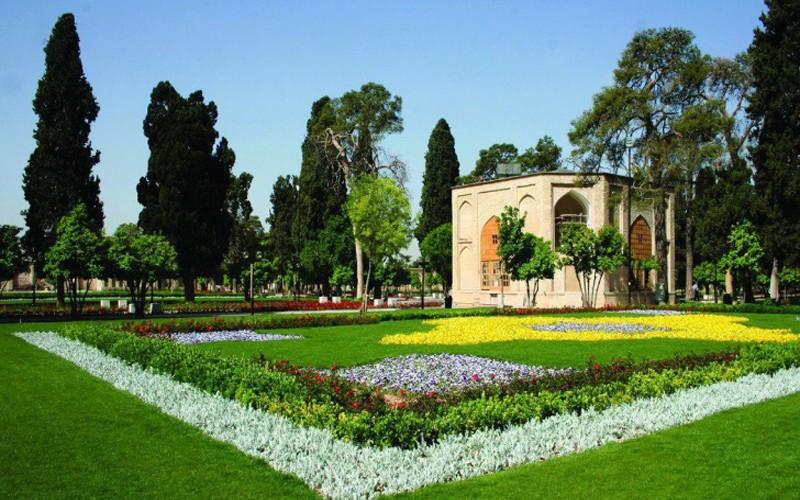 معرفی باغ جهان نمای شیراز