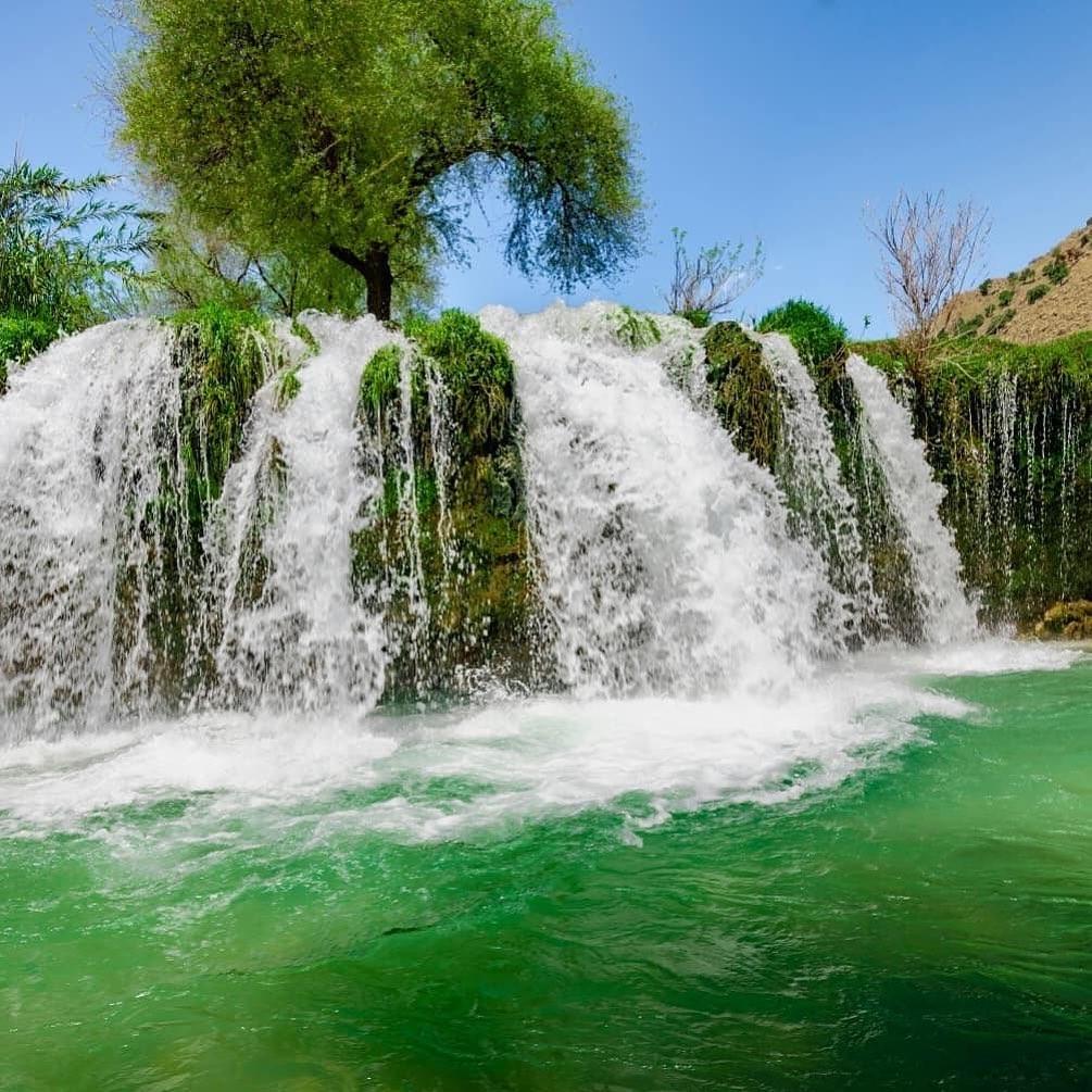 آبشارهای آرپناه لالی - خوزستان