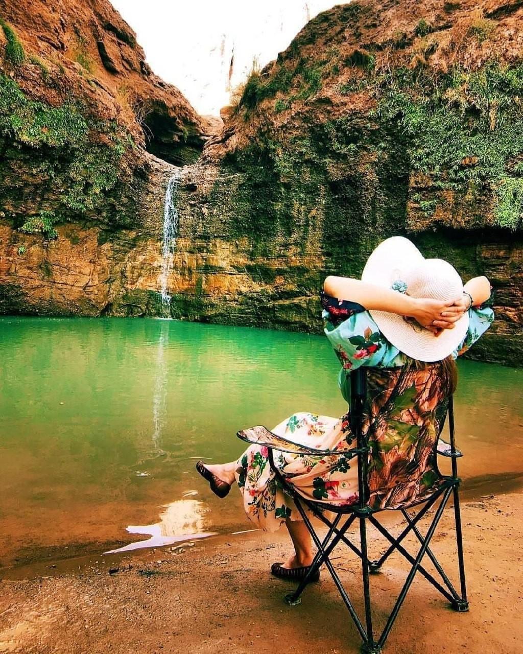 آبشار زیبای کشیت - کرمان