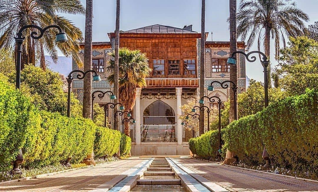 مکانهای دیدنی - باغ دلگشا شیراز