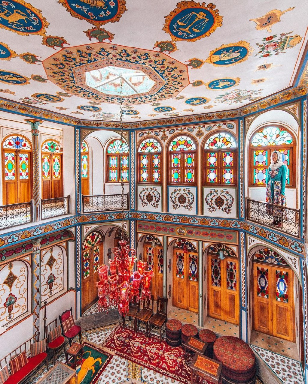 خانه تاریخی ملاباشی - اصفهان