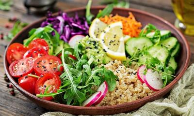 برنامه روزانه خام گیاه خواری