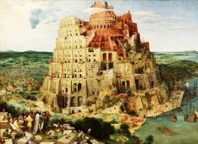 تابلوی برج بابل