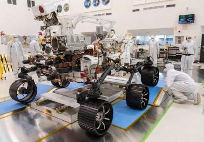 پنجمین مریخ نورد در سیارهی سرخ