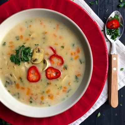 آموزش دستور تهیه سوپ جو با سبزیجات سریع