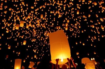جشنواره فانوس Chiang Mai (جشنواره یی پنگ)