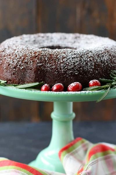 آموزش کیک وگان زنجبیل شکلاتی فاقد گلوتن