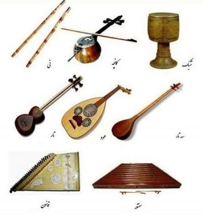 انواع ساز ها ایرانی