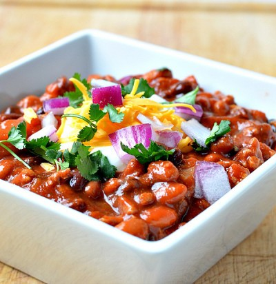 طرز تهیه خوراک لوبیا- مکزیکی