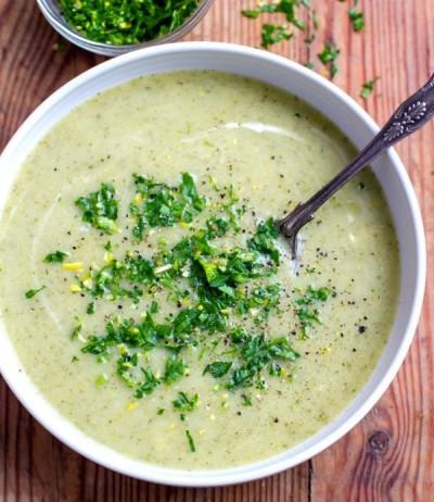 سوپ زمستانی کدو سبز