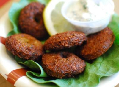 عربی/ طرز تهیه شامی گیاهی با حبوبات و بلغور