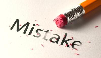 آیا در محیط کار پیوسته دچار اشتباه می شوید؟