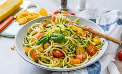 دستور پخت ماکارونی کدو سبز