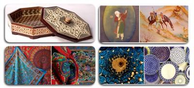 صنایع دستی و هنرهای سنتی ایران