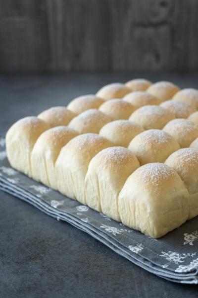 نان های نرم و پنبه ایی آسیایی