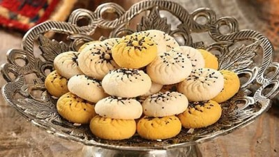 طرز تهیه نان برنجی کرمانشاه