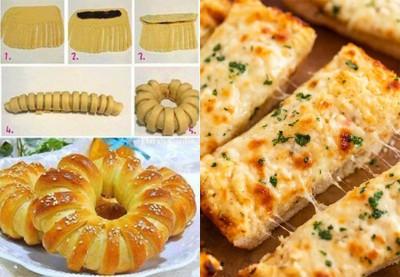 دستور العمل سریع و آسان دو نوع نان پنیری