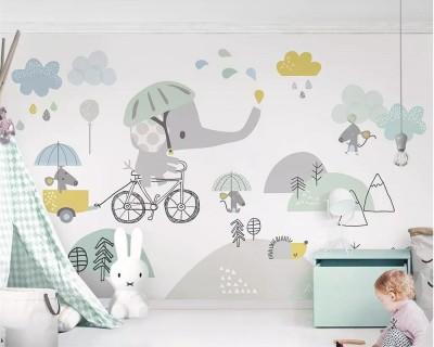کاغذ دیواری اتاق کودک چه ویژگی هایی دارد؟