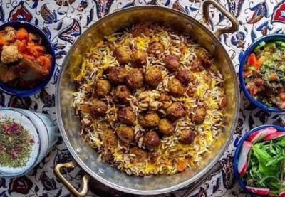 طرز تهیه قنبرپلوی شیرازی