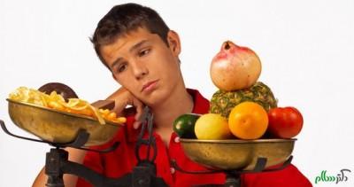 مشکلات تغذیه نوجوانان