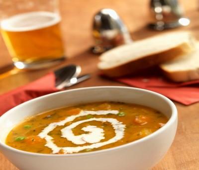 سوپ شلغم با سبزیجات