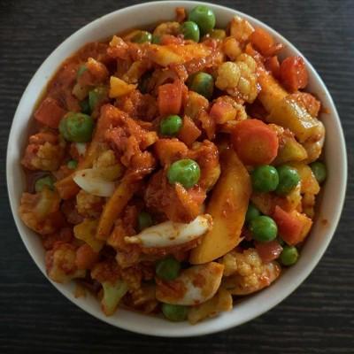 ترشی انبه با انواع سبزیجات