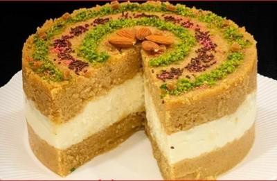 آموزش کیک حلوا ایرمیک