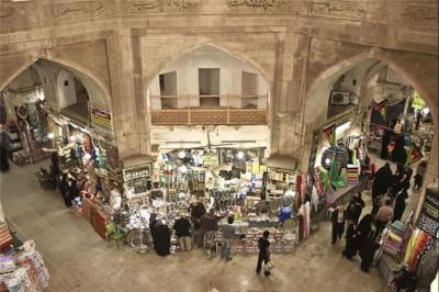 بازار قیصریه لارستان در استان فارس ایران