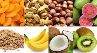 15 غذای غنی از پتاسیم
