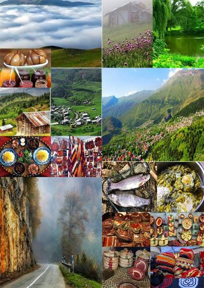 فرهنگی ، چشم انداز طبیعی رامسر شمالی ایران