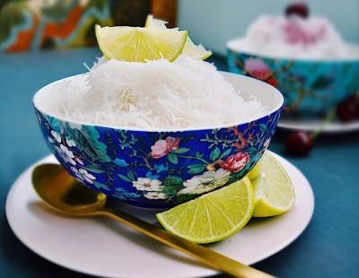 آموزش دستور العمل فالوده با نودل برنج