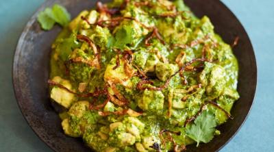 آموزش پخت هندی مرغ با سس چیلی سبز